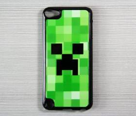 Minecraft Creeper iPod Touch 5 Hard Cover Case