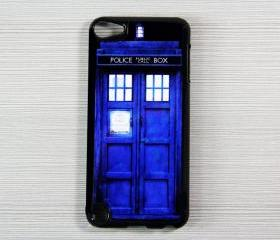 Tradis Doctor Who Police Box iPod Touch 5 Hard Cover Case