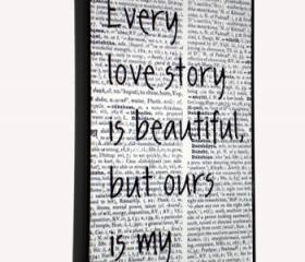 iPhone 4/4S Every Love Story Print Hard Cover Case iPhone 4S