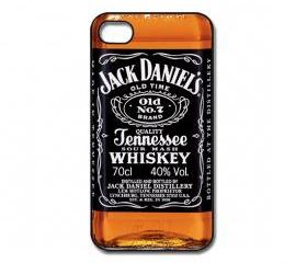 Jack Daniels iPhone 4/ 4s /5 Case / Cover. Silicone Rubber / Hard Plastic