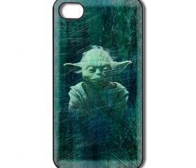 Yoda Star Wars iPhone 4 / 4s / 5 case/cover. Silicone rubber / Hard Plastic
