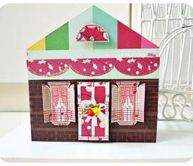 Christmas House card