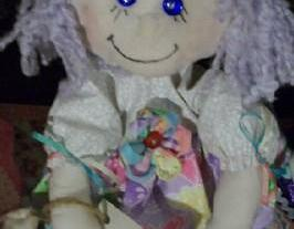 Miss Molly Soft Cloth Doll