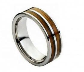 Tungsten wedding band ' FREE ENGRAVING ', MMTR209 Tungsten Carbide engagement ring