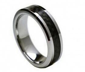 Tungsten wedding band ' FREE ENGRAVING ', MMTR214 Tungsten Carbide engagement ring