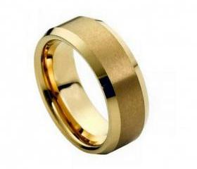Tungsten wedding band ' FREE ENGRAVING ', MMTR210Tungsten Carbide engagement ring