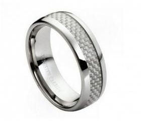 Tungsten wedding band ' FREE ENGRAVING ', MMTR203 Tungsten Carbide engagement ring