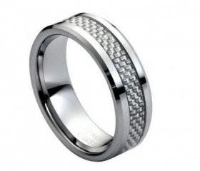 Tungsten wedding band ' FREE ENGRAVING ', MMTR164 Tungsten Carbide engagement ring
