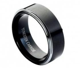 Tungsten wedding band ' FREE ENGRAVING ', MMTR118 Tungsten Carbide engagement ring