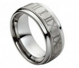 Tungsten wedding band ' FREE ENGRAVING ', MMTR101 Tungsten Carbide engagement ring