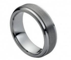 Tungsten wedding band ' FREE ENGRAVING ', MMTR068 Tungsten Carbide engagement ring