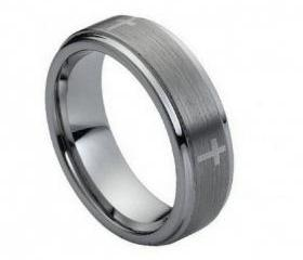 Tungsten wedding band ' FREE ENGRAVING ', MMTR044 Tungsten Carbide engagement ring