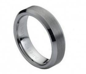 Tungsten wedding band ' FREE ENGRAVING ', MMTR038 Tungsten Carbide engagement ring