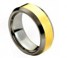 Tungsten wedding band ' FREE ENGRAVING ', MMTR024 Tungsten Carbide engagement ring