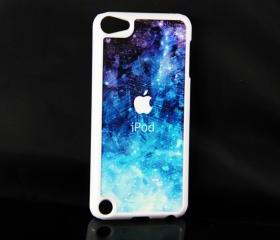 Stylish Blue iPod Touch 5 Hard Cover Case