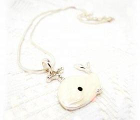 Baby Whale Necklace