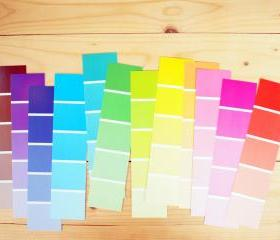 Swatch paper, color Pantone 