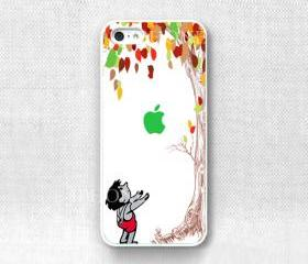 Iphone case - colorful giving tree , Iphone 5 case custom iphone 5 case