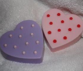 Massage Heart Soaps