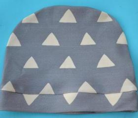 Knit Triangle Baby Beanie