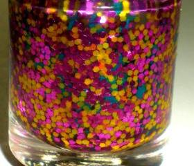 Nail Polish - SECRET GARDEN - Spring Collection - Glitter Nail Polish - 0.5 oz Full Sized Bottle
