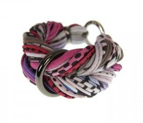Braided Womens Bracelet Bangle Fabric Cuff Jewelry Friendship Knot Tribal Wrap Chunky Boho Stack Stacking Bangles Bracelets multi color