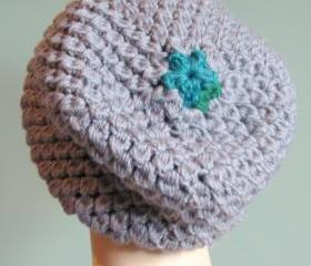Sammy Slouch Hat - Ready To Ship - Gray
