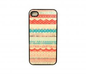 Pink Laced iPhone 4/4s Case