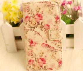 Vintage Floral Pattern iPhone 4/4s Cover