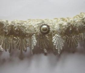 Bridal Garter - Vintage Inspired Bridal Garter Set