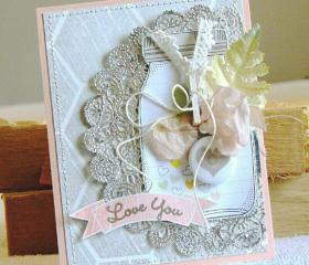 'Love You' Greeting Card