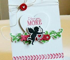 'I Love You More' Greeting Card