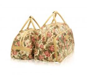 Retro Floral Pattern Handbag