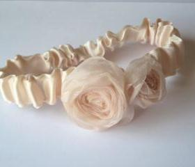 Phoebe Rose - Peach Garter Set - Special Offer for Limited Time ONLY 15% Off