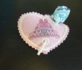 Birthday/Valentine's Day Sucker Holder Crown Free Shipping