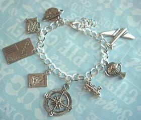 traveller's charm bracelet