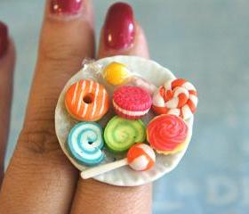sweets plate ring