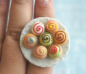 cupcake plate ring