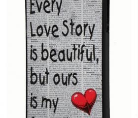 iPhone 4/4sEvery Love Story Dictionary Print Design Cover Case iPhone 4 / 4S