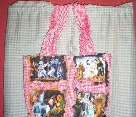 Wizard of Oz Purse, Tote, Messenger Bag