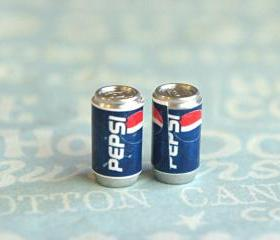 pepsi stud earrings