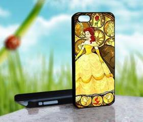 Beauty and the beast - Walt Disney Design on Hard Case for iPhone 5