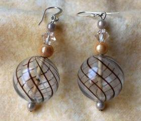 Blown Glass Earrings