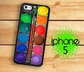 IPhone 5 Case - Water Color Paint Set Image, Paint Set