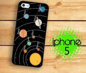 IPhone 5 Case - Planets and Stars Solar System