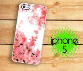 IPhone 5 Case - Pink Cherry Blossom Japanese Cherry Blossom Tree Branch
