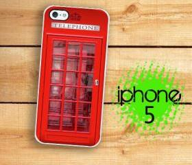IPhone 5 Case - British Red Phone Booth