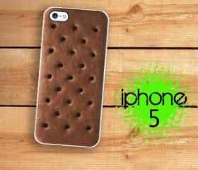 IPhone 5 Case - Ice cream sandwich Chocolate