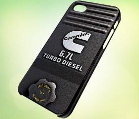 HP164 CUMMINS Turbo Diesel design for iPhone 5 Black Plastic Case - leave message for White Case / iPhone 4 or iPhone 4S Case