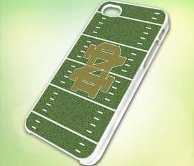 HP216 Notre Dame Fighting Irish NCAA Football Team design for iPhone 5 White Plastic Case - leave message for Black Case / iPhone 4 or iPhone 4S Case